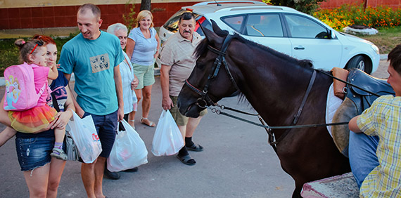 The cost of horse riding in Lviv